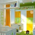 Детская в современном стиле абв интериорс, Артем Болдырев, abv interiors, a-b-v-interiors.ru, 3d визуализация, дизайн интерьера,