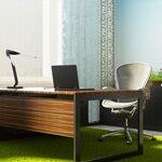 3d концепция зеленого кабинета Danone