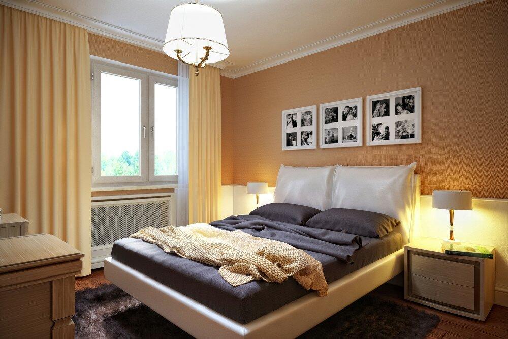 Американский стиль. Спальня